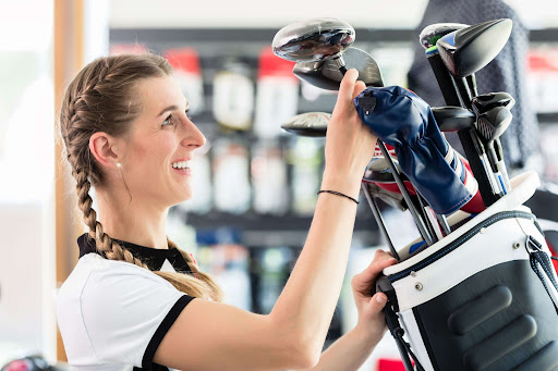 shopping for golf gear in Myrtle Beach