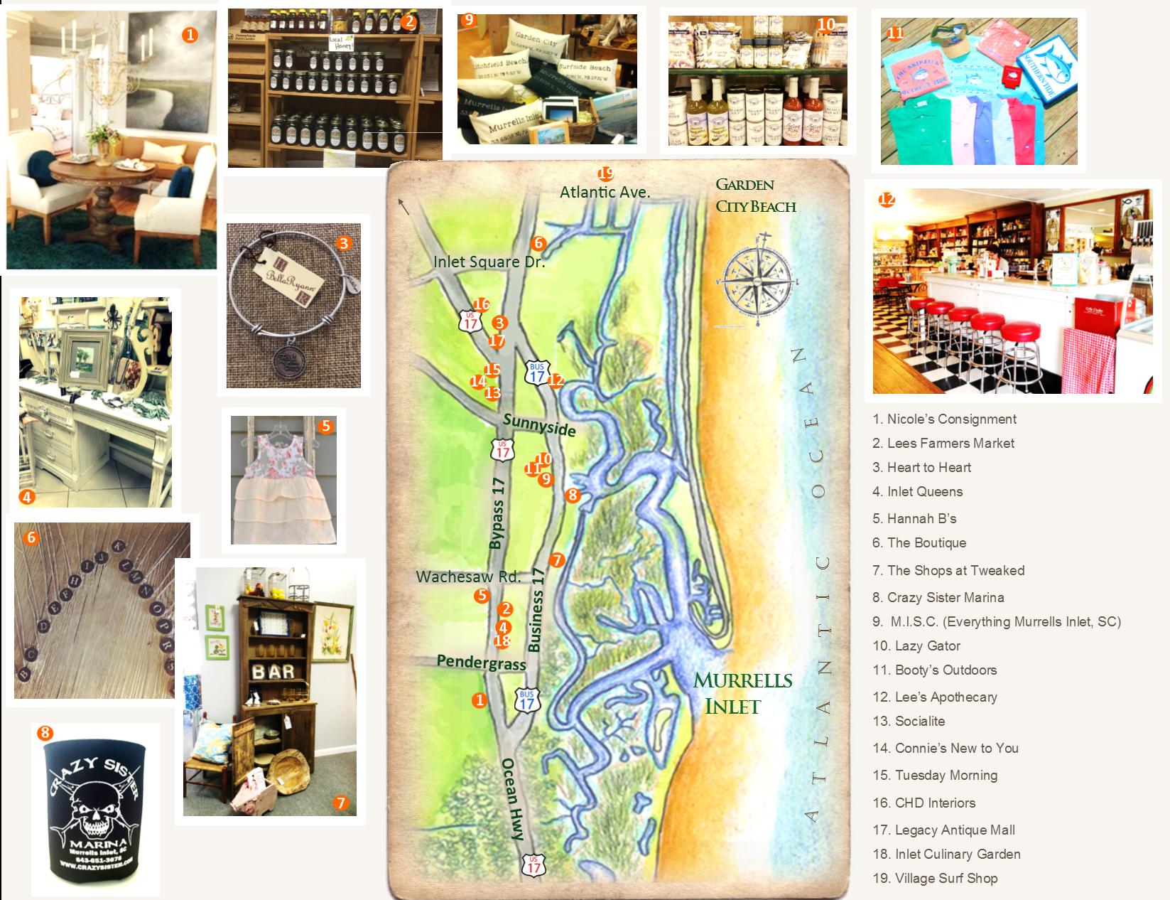 Myrtle Beach Shopping - Tanger Outlets & Hammock Shops
